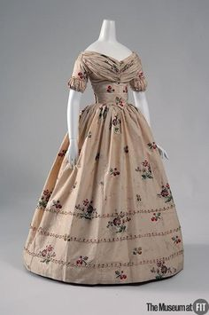 Evening Dress 1840 The Museum at FIT