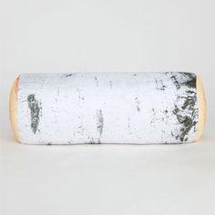 KIKKERLAND Birch Log Pillow
