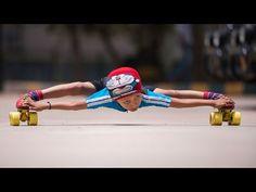 Indiano de 6 anos patina sob 39 carros sem tocar neles ou no chão [vídeo]