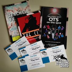 Denver's Bovine Metropolis Theater has donated tickets for four to the #bbb16 silent auction! I checked out their shows online, and can say there's something for everyone.