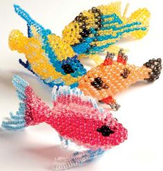 Projects - Home Décor Fish with Twin™ Seed Beads - Fire Mountain Gems and Beads