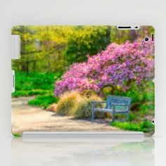 Kingwood Gardens, Mansfield, Ohio iPad Case by Mary Timman - $60.00