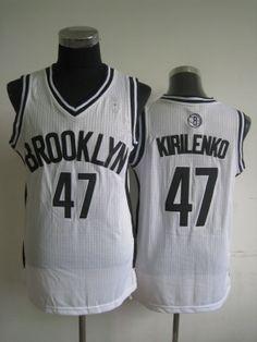 036278b6e4d NBA Brooklyn Nets KIRILENKO  47 Jersey-white