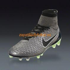 Nuevo Zapatos de Futbol Nike Magista Obra FG Para Terreno Firme El Estano  Metalico Negro Negro Blanco Cromo a72bcf5b61da4