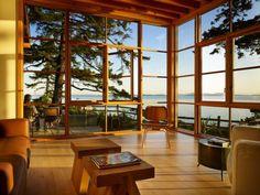 216 best pacific northwest architeture images cottage country homes arquitetura - Maison davis miller hull partnership ...