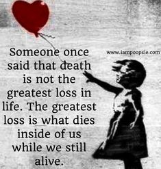 Don't let your soul die...