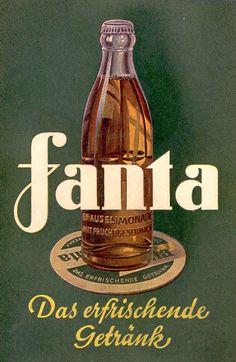 """Poster: """"Fanta"""" Germany, 1941 (WW2)"""