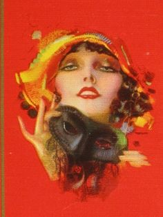 """Art Deco Pinup Swap Playing Card """"Dreamy Eyes"""" by Rolf Armstrong 1930's Vintage!"""