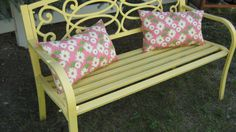 OUTDOOR BENCH PILLOWS by 12dozen on Etsy, $7.00
