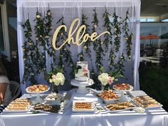 "74 Likes, 7 Comments - Gi Relampagos (@1sweet69ss) on Instagram: ""Dessert table all for #chloeharlowjune"""