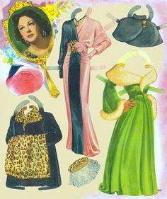 Hedy LAmarr 1951 Saalfield #2600 reconstructed book - Bobe Green - Picasa Web Albums
