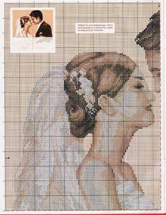 Punto-Cruz-pareja-de-novios4.jpg 1.237 ×1.600 pixels