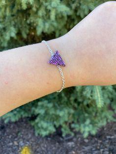 Purple items Purple Tiki Silver Necklace|Purple necklaces Hawaiian themed jewelry Teacher gifts