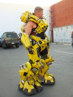 FireFall Yellow Full Body Armor This has been made by the dude who made the original Predator suit..!