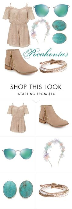 """""""Pocahontas"""" by methebault ❤ liked on Polyvore featuring Miss Selfridge, Journee Collection, Fendi, Monsoon, Exex Design and Lonna & Lilly"""