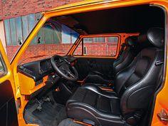 TT-Sitze im Bulli Cockpit
