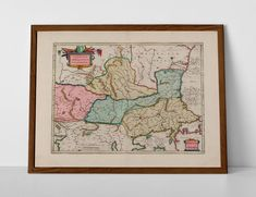 Old map of Lower Danube, Bulgaria, Romania, Serbia and Macedonia from which we will create your museum quality, giclée print. Old World Maps, Vintage World Maps, Historical Maps, Belgrade, Macedonia, Bulgaria, Travel Posters, Romania, Giclee Print
