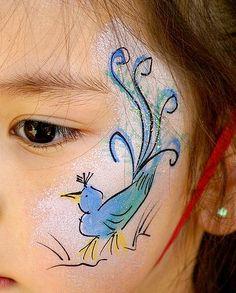 Bird Cheek Face Paint
