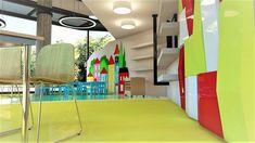 διακόσμηση  φροντιστηρίου    Εργαστήριο πειραμάτων Διακόσμηση Fair Grounds, Outdoor Decor, Fun, Travel, Home Decor, Viajes, Decoration Home, Room Decor, Trips