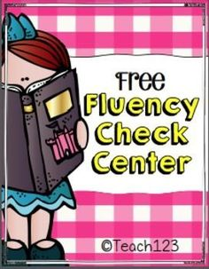 "Free Fluency Checks!!......Follow for Free ""too-neat-to-keep"" teaching tools & other fun stuff :)"