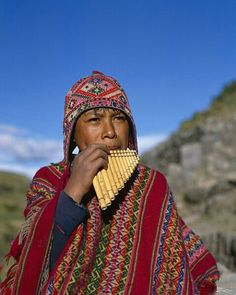 #Peruvian: Young musician from the Andes, #Peru.