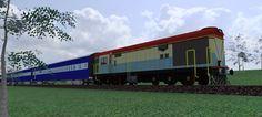 Deisel locomotive INDIA  Photo realistic detailing
