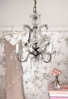 One of our scrumptious chandeliers
