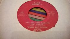 Northern Soul  45      Jimmy Ray Hunter ---The Girl That Radiates That Charm