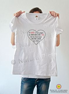 A heart is not judged Oz quote T-shirt-heart quote by naturapicta