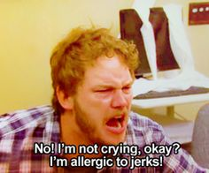 Andy Dwyer - Parks and Rec @Kelly Eckenrod I should of said this to that lady yesterday :(