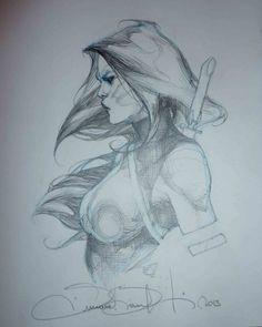 Psylocke by Simone Bianchi *
