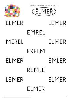 Télécharger les jeux d'eveil Elmer gratuitement Elmer The Elephants, Mazes For Kids, Petite Section, Eric Carle, Indoor Activities, Literacy, Kindergarten, Preschool, Projects To Try