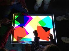 """Atelier pour enfants """"L'attrape-lumière"""" de la Fondation Louis Vuitton - * aunomi *"""