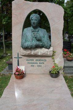 Kraków-Cmentarz Rakowicki,grób Marka Grechuty