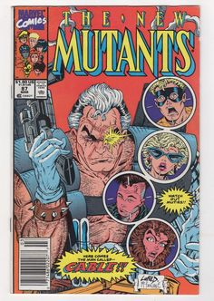 The New Mutants #1 NM 9.4 before pressing