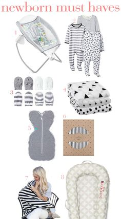 Must haves for your newborn baby from a second-time mom.