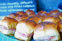siriously delicious: Lucy's Ham Sandwiches