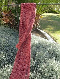 light and Lacey Loom scarf free pattern