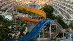 Aquaticum Best Of Waterslides 360° VR POV Onride Vr, Hungary, Indoor, Interior
