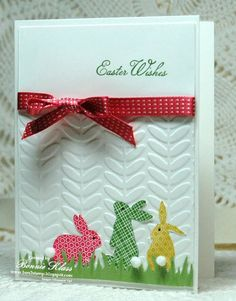 #papercraft #easter #card:  Stamping with Klass: Ears to You