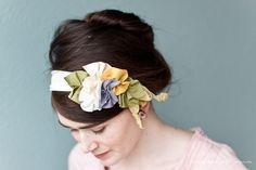 Petite Garden hair wrap headwrap headband headcovering head band piece