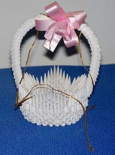 3D Origami - Small Basket