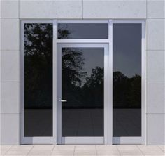 Choose SUPREME the insulated entrance door by Alumil. Exceptional quality and modern design. Minimal Design, Modern Design, Thermal Insulation, Entrance Doors, Glass Panels, Exterior Design, Supreme, Windows, Architecture