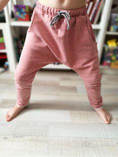 kids girls toddler boys trousers leggings harem pants 2-3-4-5years cotton