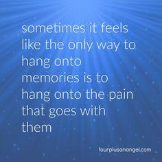 hanging onto memorie