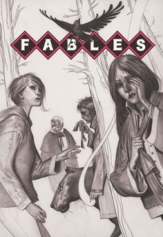 Fable 117 cover by Joao Ruas