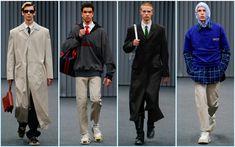 Balenciaga presents its fall-winter 2017 men's collection during Paris Fashion Week.