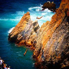 Cliff Diving, La Quebrada Acapulco, México