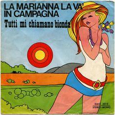 Rino* E Monica (23) - La Marianna La Va' In Campagna (Vinyl) at Discogs