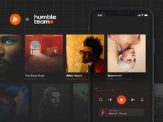 Musi — music streaming app. Turn it up to 11! by Nick Tarasov on Dribbble